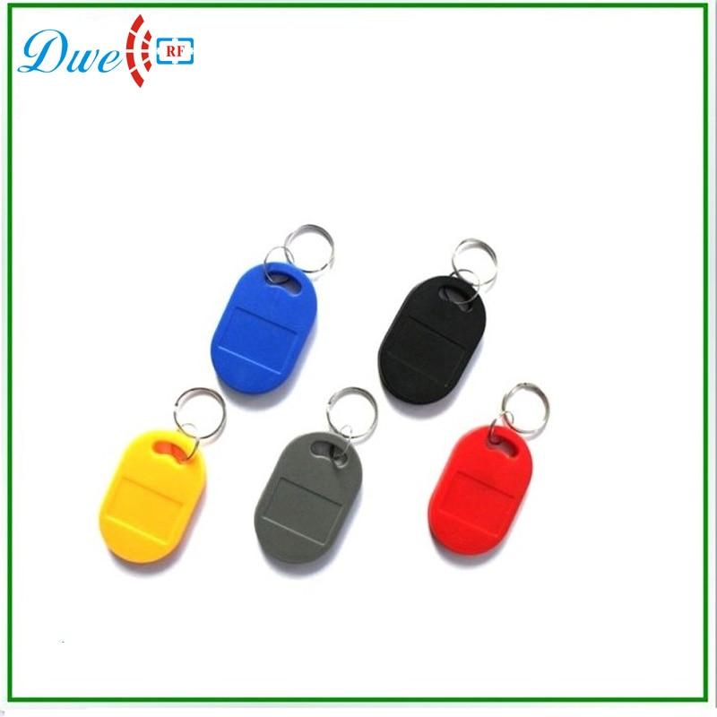 125khz black color keyfobs EM4100 chip 200pcs per lot