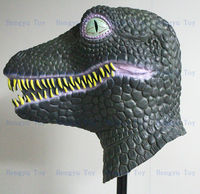 Design From Dino Crisis Party Costume Mask King Quality Latex Dinosaur Costume Mask For Adult