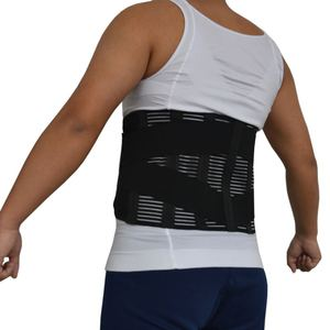 Image 2 - Y015 נשים גברים אלסטי מחוך בחזרה המותני Brace תמיכת חגורת אורטופדי היציבה חזור מותן חגורת תיקון בטן XXXL