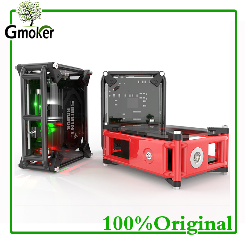 100% Original Smoant RABox Mod 3300mah Battery Mechanical Mod RABOX 100W vs reuleaux rx2/3 voopoo drag 157w Electronic cigarette voopoo drag 157w tc box mod