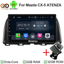 2GB RAM Octa Core 10.1″ Android 6.0 Car Audio DVD Player for Mazda CX-5 CX 5 Atenza With Car Radio GPS 4G WIFI Bluetooth USB