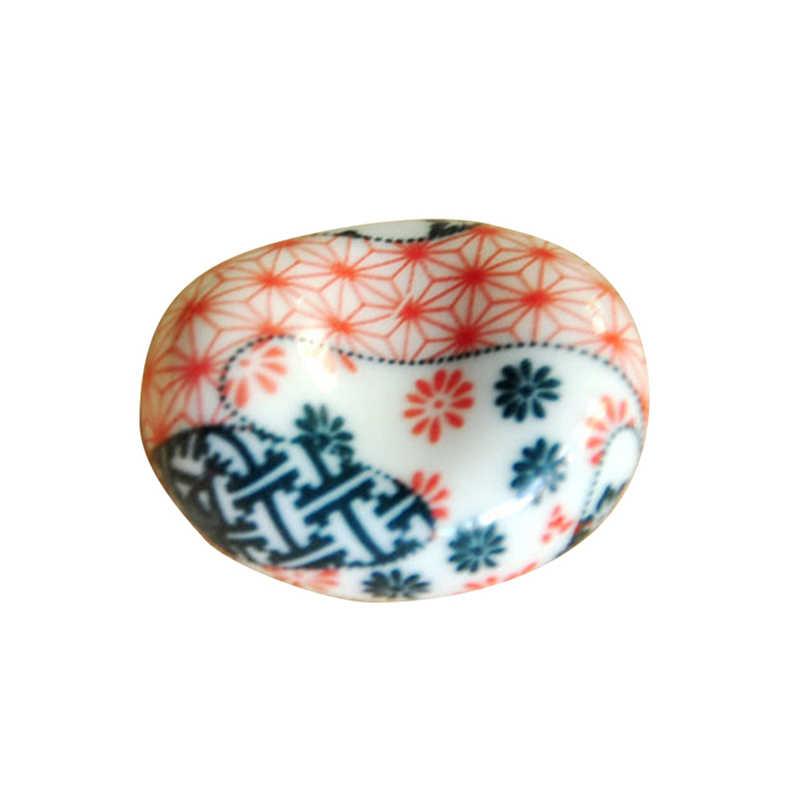 Bonito Japonês Cerâmica Ware Lingotes Pauzinhos Cremalheira Estande Titular Garfo Colher de Porcelana Decoração Da Casa Nova transporte da gota