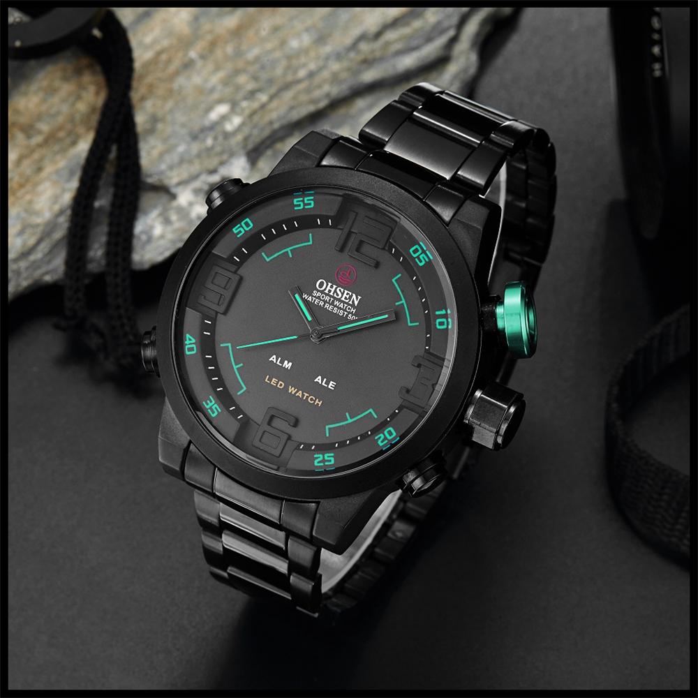 New Watch Men's Military Watches Sports Quartz Wristwatches (15)