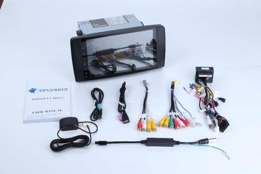 アンドロイド8.0カーdvdプレーヤー用メルセデスベンツgl mlクラスw164 ml350 ml500 x164 gl320車のgpsステレオラジオラム4グラムrom 32グラムオーディオ