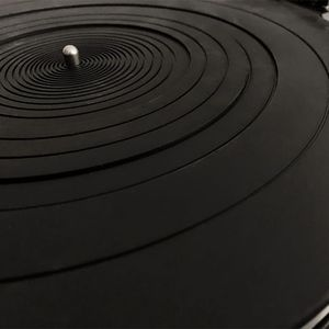 Image 4 - Anti vibration Audiophile ซิลิโคน Pad Anti Static ยาง LP Antislip สำหรับแผ่นเสียง Turntable ไวนิลบันทึกเครื่องเล่น Accessor