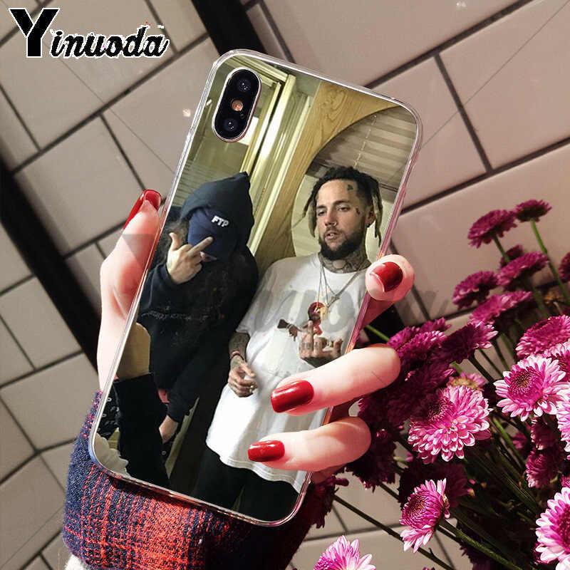 Yinuoda suicideboys FTP G59 Высокое качество Аксессуары для телефонов Чехол для Apple iPhone 8 7 6 6S Plus X XS max 5 5S SE XR Чехол для мобильного телефона