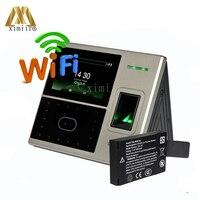 UFACE800 Embutido WIFI Ethernet portas ZKTeco comparecimento do tempo de Reconhecimento Facial Face do Relógio Bateria de Back Up|Dispositivo de reconhecimento facial| |  -