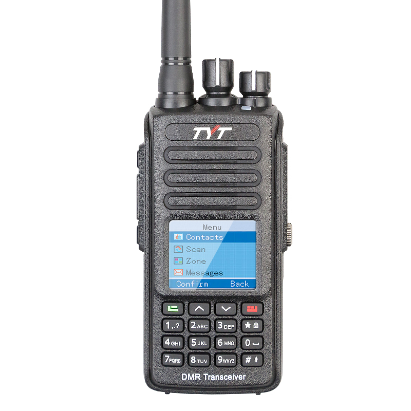 100% Brand New Factory Authorized IP-67 Waterproof TYT VHF DMR Walkie Talkie MD-390 with GPS and Programming Cable100% Brand New Factory Authorized IP-67 Waterproof TYT VHF DMR Walkie Talkie MD-390 with GPS and Programming Cable