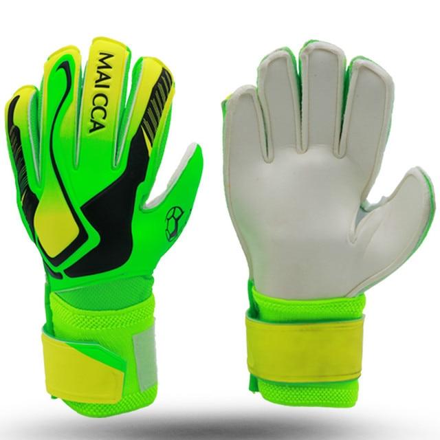 588d7e914 Kids Football Gloves Thicken Latex Goalkeeper Gloves Soccer Goal Keeper Kit Goalie  Training Gloves With Fingersaves Protection