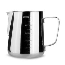 Нержавеющая сталь вспенивания молока кувшин для эспрессо Кофе бариста Craft Кофе латте вспенивания молока кувшин 350 600 1000 мл