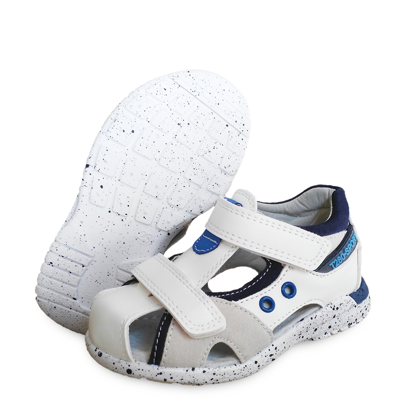 Super Quality 1 Pair Orthopedic PU Leather Boy Sandals Children Shoes, Child Sandals
