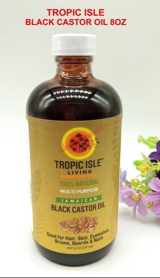 Black castor oil hair and eyelash growth oil 8oz( free bottle)Black castor oil hair and eyelash growth oil 8oz( free bottle)