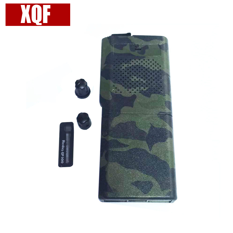 XQF New Camouflage Complete Radio Service Parts Case Refurb Kit For Motorola GP300 Two Way Radio