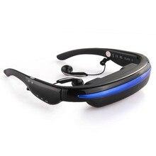 Video Glasses Eyewear 52″ HD Screen Video Eyewear HD Camera Glasses 4GB 3D Camera Eyewear Stereo Virtual Camera Theater Digital
