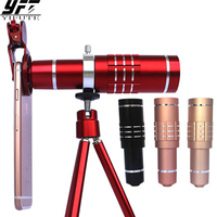 YIFUTE Mobile Phone 18x Telescope Camera Zoom Optical Cellphone Telephoto Lens For IPhone Samsung Huawei Oppo
