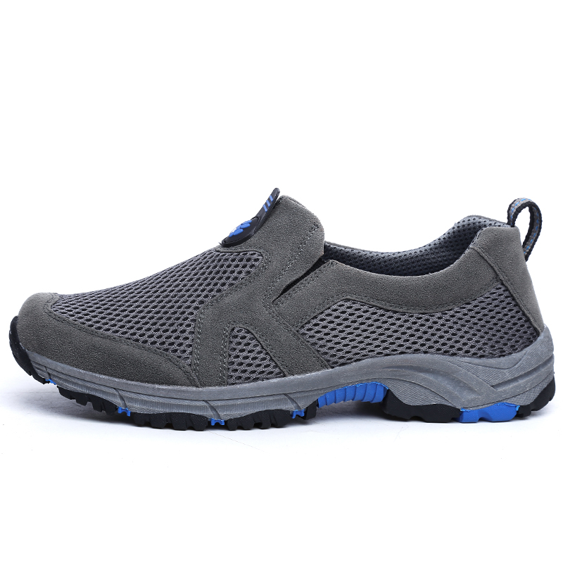 New Arrival Big Size Men/'s HIking Shoes Male Outdoor Antiskid Breathable Trekking Hunting Tourism Mountain Sneakers