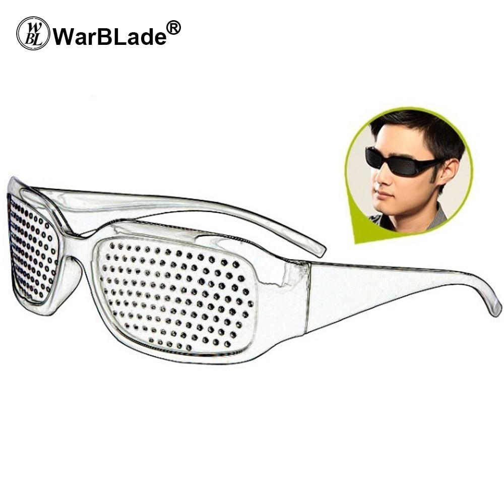 WarBLade Child Anti-myopia Glasses Women Vision Care Pin hole Sunglasses Eyesight Improve Natural Healing Anti-fatigue 5