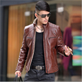 Winter leather jackets Men Faux Fur Coats male casual motorcycle leather jacket Thicken Outwear Overcoat For Man large size 4XL