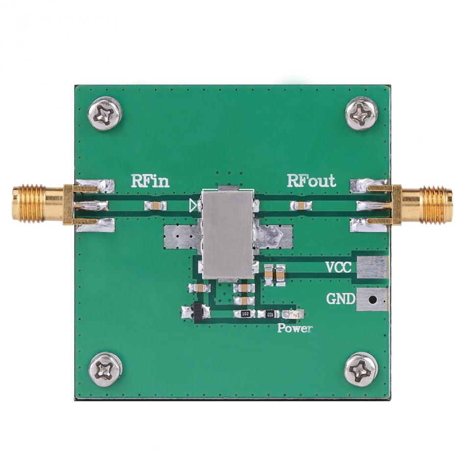 1PC Low Noise Amplifier Module low-noise amplifier LNA 4.0W 30dB RF Power Amplifier SMA Female Connector 915MHz RF Broadband rf broadband lna 0 1 2000mhz amplifier 30db high frequency amplifier