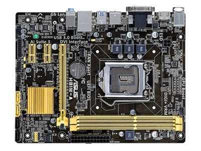 ASUS H81M-A ban đầu Bo mạch chủ LGA 1150 DDR3 cho i3 i5 i7 CPU 16 GB USB2.0 USB3.0 HDMI VGA DVI H81 máy tính để bàn Bo mạch chủ