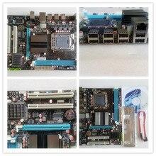 Новый x58 LAG 1366 ECC REG DDR3 материнская плата для quad-core CPU 8 темы Все твердые x58 desktop материнских плат бесплатная доставка