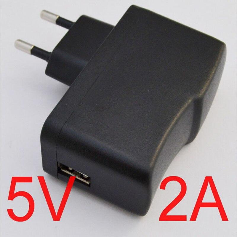 Universal EU Plug 5V 2A Output USB Power Adapter Battery Charger for ipad Mini Air Samsung Tabs XiaoMi pad Sony Lenovo MeiZu