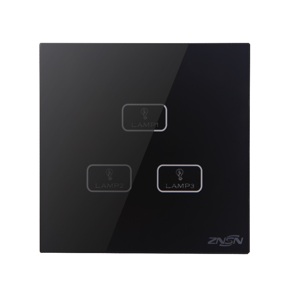 Only Live Line Black 3 Gang 2 Way 86x86x37mm Luxury Crystal Glass Panel Wall Touch Switch григорий лепс парус live