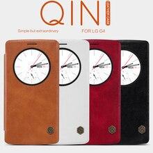 Оригинальный флип чехол Nillkin для LG G4 Qin Блеск кожаный чехол