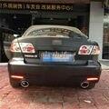 Varthion Car LED Luzes De Freio Vermelhas Caso para Mazda 6, LEVARAM luzes De Freio + Turn Signal Luzes + Noite Correndo Luzes de Advertência, 3 in1