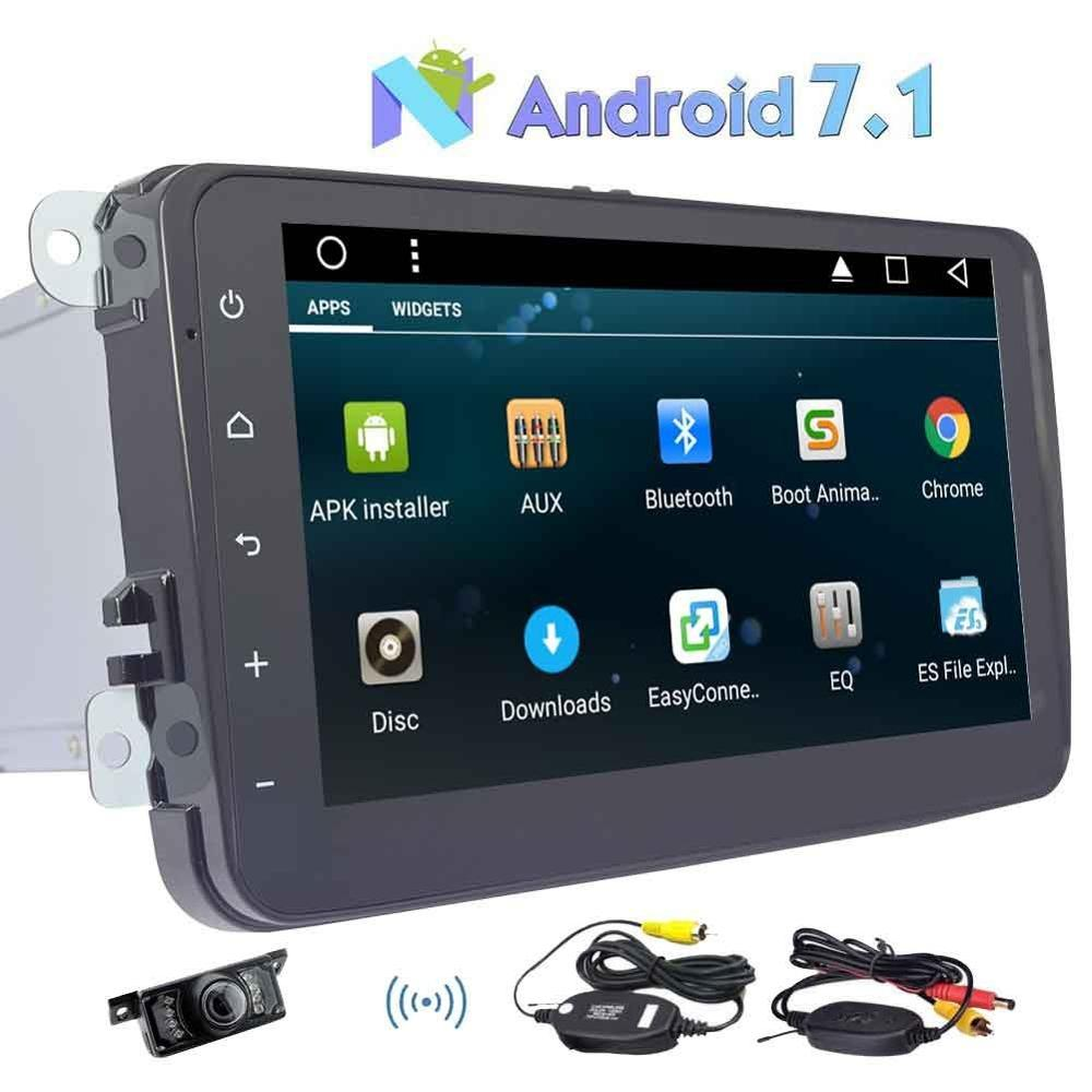 Android 7 1 Quad Core 8 Car Stereo Radio Player GPS Canbus font b Wireless b