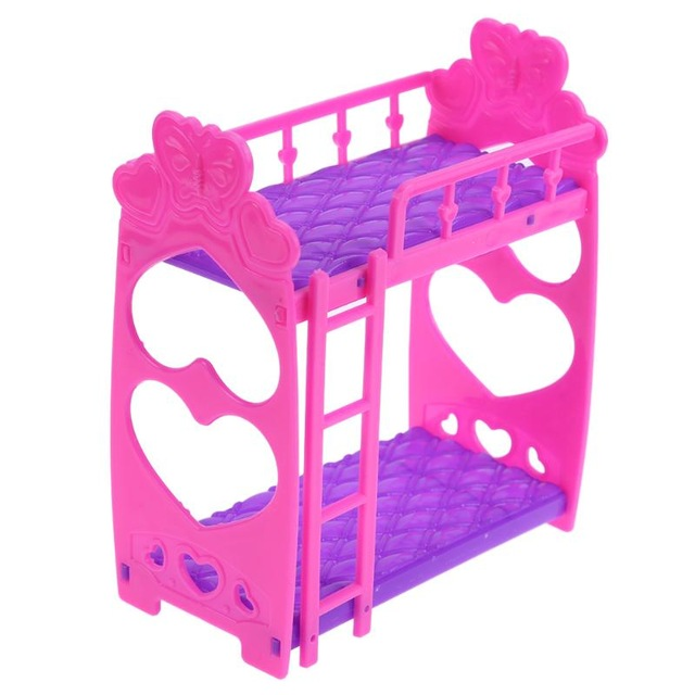 Detachable Mini Plastic Chair Toy for Barbie Doll House DIY Accessories Healthy