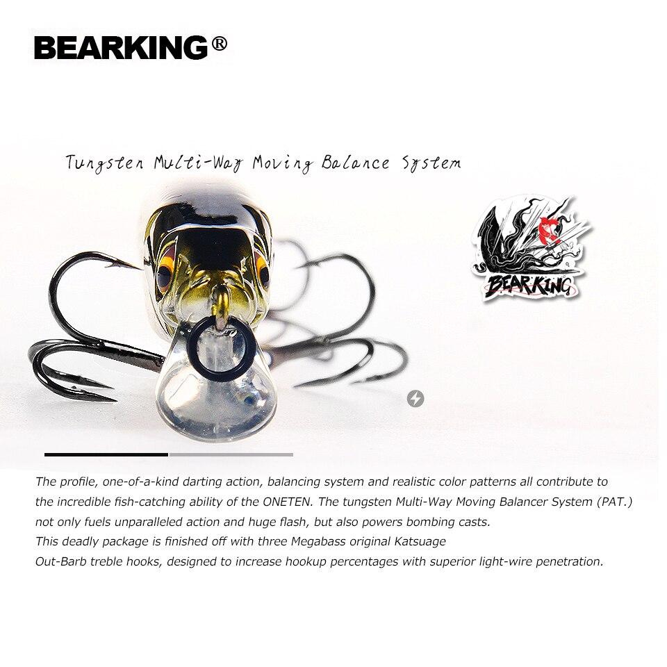 2018 heißer Bearking perfekte aktion 12 verschiedenen farben angeln lockt, 98mm/10g, sp minnow 12 verschiedene bunte farbe, freies verschiffen