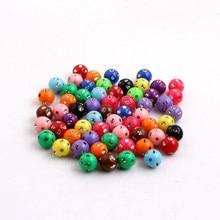 Jewelry Necklace Bling-Rhinestone-Beads Acrylic-Bling Chunky Hot-Sale 12mm OYKZA