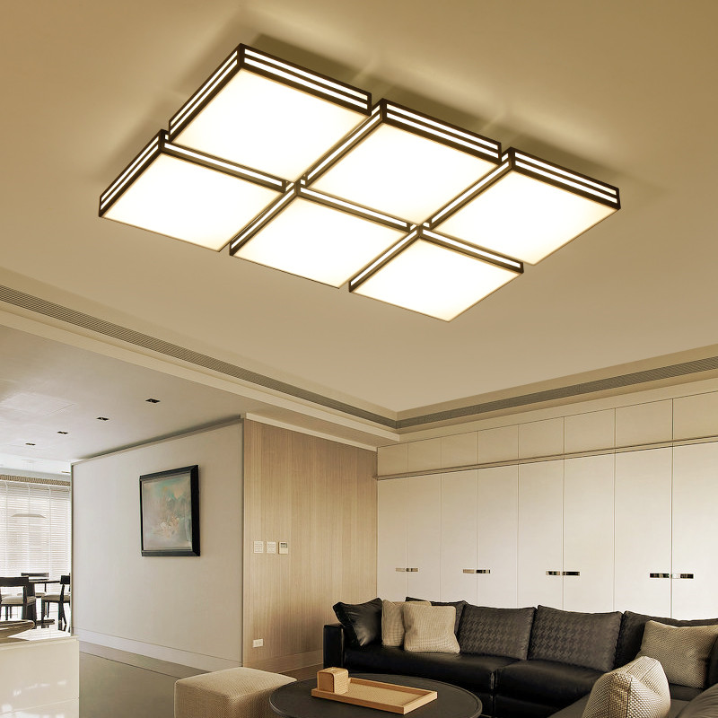 Smart remote control LED ceiling light for restaurant living room and bedroom all houses gorgeous acrylic ceiling lamp