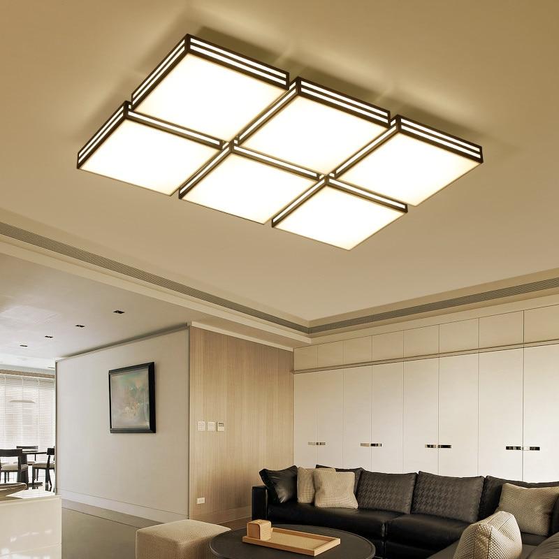 Здесь можно купить  Smart remote control LED ceiling light for restaurant living room and bedroom all houses gorgeous acrylic ceiling lamp  Свет и освещение