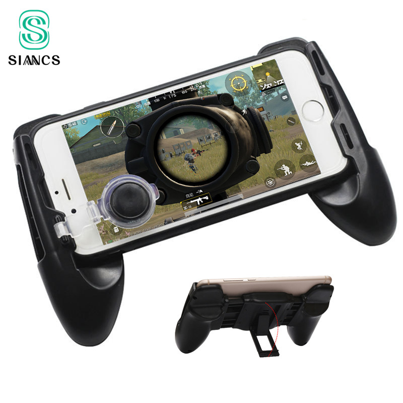PUBG Mobile Controller Phone Game Touch Screen Move Joystick Gamepad Gaming Game Pad Handle Stand Grip Holder for iPhone Android