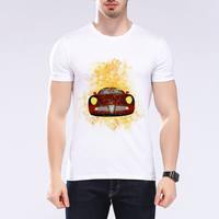 Latest Styles Men Luxury Sports Car T Shirts Clothing Car Brand T Shirts Casual Funny Short