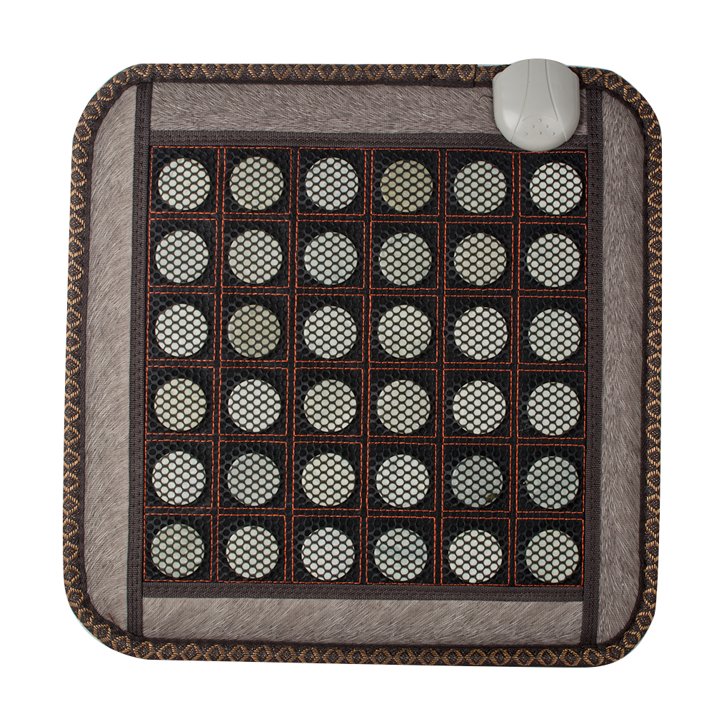 Health Care Massager Natural Jade Tourmaline Stones Infrared Heating Mat Heating Seating Cushion концентрат health