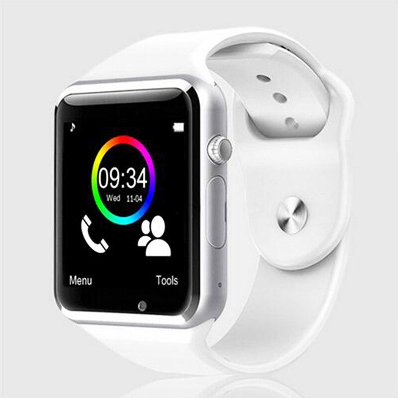 Reloj del bluetooth de smart watch deporte podómetro con sim cámara smartwatch p