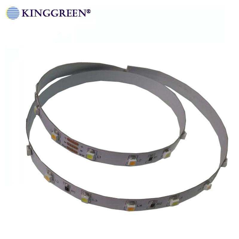 Image 4 - High CRI>90 3528 flexible color dimmable LED strip light DC24V 60 ,120, 240LED/m 3000K & 6000K CCT adjustable free shipping-in LED Strips from Lights & Lighting