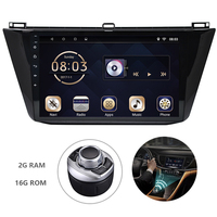 Android 7.1 1din Car DVD Multimedia Player For VW Tiguan 2015 2018 GPS Navigation System With Canbus Carplay Mirror Link