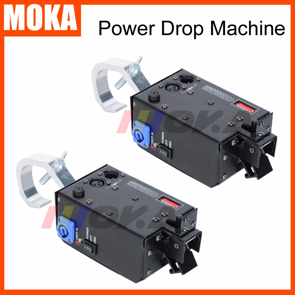 2 PCS/lot Power Drop Stage backdrop DMX Control System Hook Curtain AC 110V 220V 50/60Hz Stage Special Equipment dj Drop Machine присадка в дизельное топливо wolf diesel particulate filter cleaner 0 325 мл