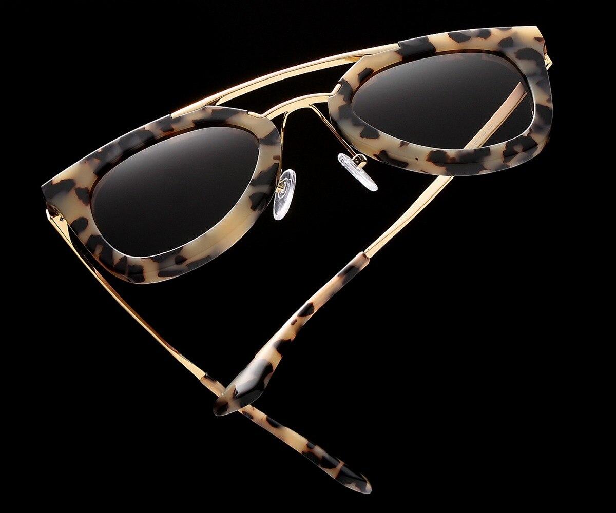 Kézzel készített valódi acetát szemüveg napszemüveg a nők - Ruházati kiegészítők - Fénykép 3