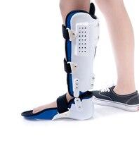 Бесплатная доставка падение ног Brace АФО Ортез голеностопного сустава и стопы Поддержка лодыжки ног перелом реабилитации со СПИДом Поддержк