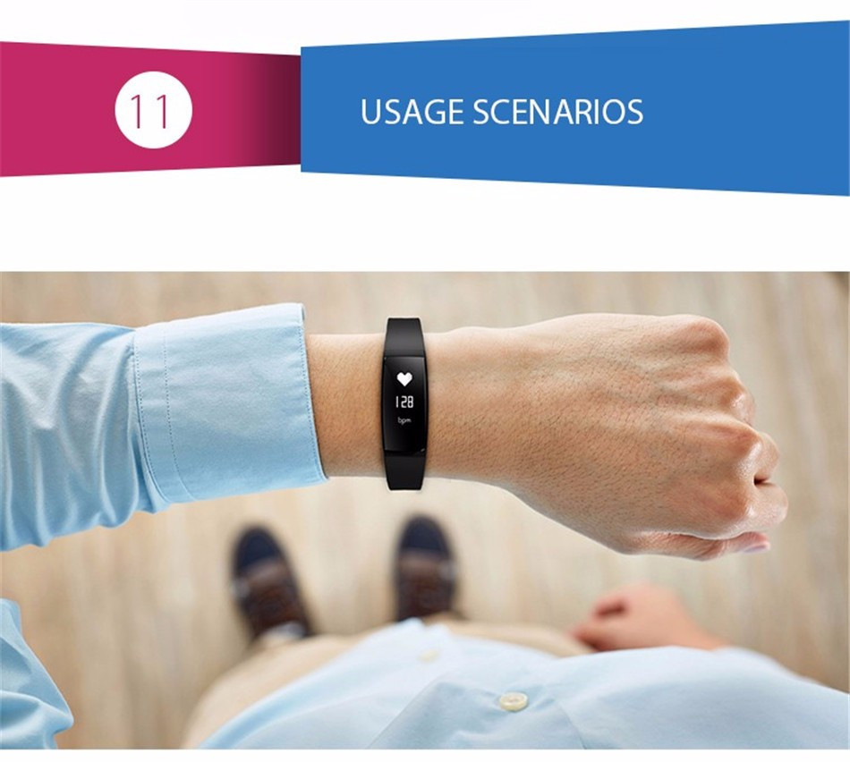 V07 Smart Bracelet Blood Pressure Watches Smart Band Heart Rate Monitor Fitness Pulsometro Activity Tracker for Smartphones 8