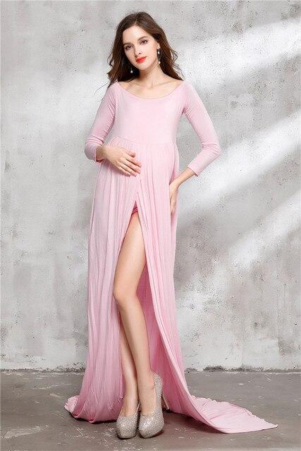 9bad79f9 Envsoll nuevas mujeres Maternidad vestido de embarazo fotografía props elegante  embarazo ropa Maternidad Vestidos photography ropa