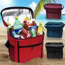 Большой Сгущает складной свежие сумка обед мешок для пищевой фруктов, морепродуктов стейк изоляции Термальность вино сумка-холодильник