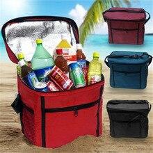 Large Thicken Folding Fresh Keeping Cooler Bag Lunch Bag For Food Fruit Seafood Steak Insulation Thermal wine bag cooler Bag