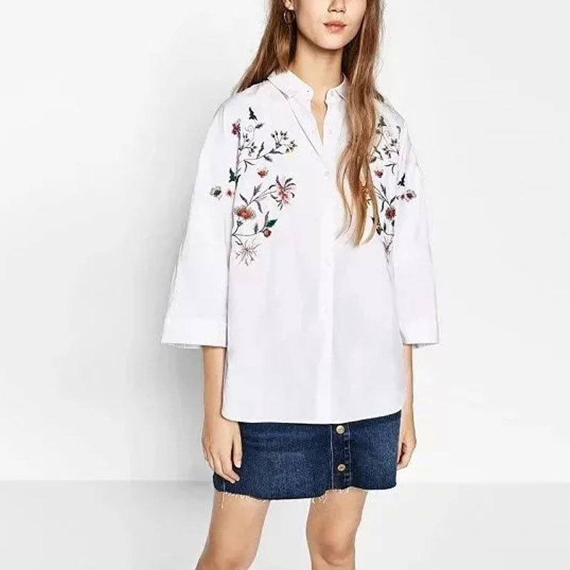 Online Get Cheap Embroidered White Blouse -Aliexpress.com ...
