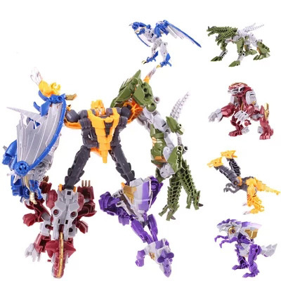 Wulong fit machine tap dinosaurs battle forces combination rain the decepticons